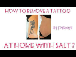how to get rid of a tattoo at home video tutorial globalfood