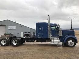 kenworth w900b 2006 kenworth w900b sleeper semi truck for sale missoula mt