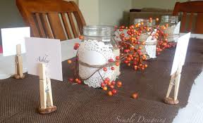 thanksgiving table decor plus