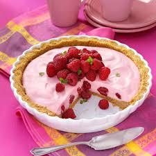 raspberry recipes marshmallow raspberry pie recipe taste of home