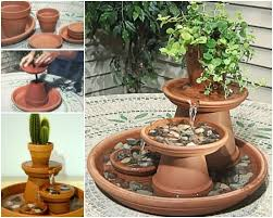 Water Fountains For Backyards by Best 25 Diy Water Fountain Ideas On Pinterest Diy Fountain