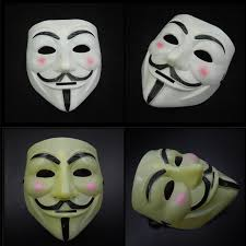 v for vendetta costume mask v mask for vendetta fawkes scary fancy dress