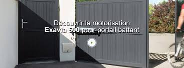 Portail Alu Battant 3m50 by