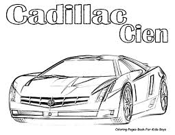 printable coloring pages sports cars kids coloring