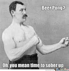 Beer Pong Meme - beer pong by daegon meme center