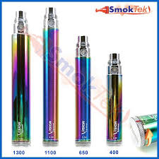 vision spinner 2 light codes new vision spinner variable voltage 1300mah ego battery rainbow