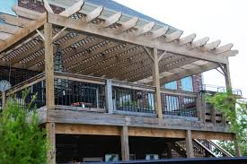 Pictures Of Roofs Over Decks by If You Build It Add A Pergola To A Deck The Polkadot Chair