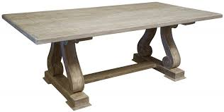 dining room minimalist wooden kitchen table with tapered legs of