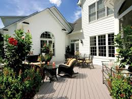 deck furniture layout space planning tips for a deck hgtv