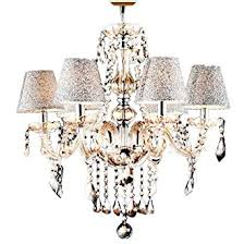 Chandeliers With Shades And Crystals by Lightinthebox 6 Lights Decorative Crystal Chandelier In Cognac