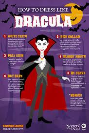 vampire legend how to dress like dracula for halloween secrets