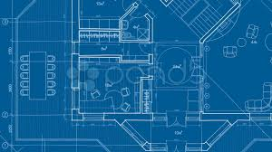 Blue Print Of A House Architecture Blueprint Hd U0026 4k Stock Footage 7730263