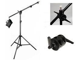 studio light boom stand studio boom stand photography boom arm sand bag 8 lighting stand kit