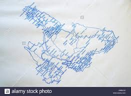 Kefalonia Greece Map by Map Of Kefalonia Printed On A Paper Table Cloth On A Table In A