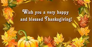thanksgiving wishes blessings thanksgiving blessings