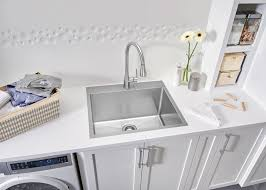 Deep Sinks For Laundry Room by Blanco Gives The Laundry Room A Stylish Makeover And Carefree