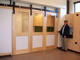 Interior Sliding Glass Barn Doors by Barn Door Sliding Barn Doors With Glass With Trendy Popular