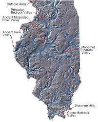 Shawnee Map Illinois Natural History Survey Illinois Ice Ages