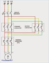 amazing 3 phase motor contactor wiring diagram pictures with start
