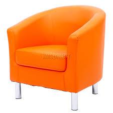 Faux Leather Dining Chairs With Chrome Legs Foxhunter Modern Tub Chair Armchair Pu Faux Leather Chrome Leg