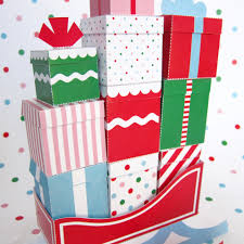 5 best images of printable mini gift boxes printable christmas