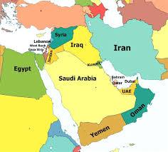 uae map map of uae and oman ambear me