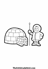 best photos of igloo coloring pages printable igloo coloring