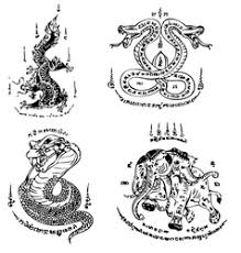 naga tattoo thailand thai tattoo ancient template royalty free vector image