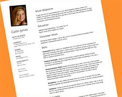 Volunteer Work Resume Samples by Resume Examples Resume Templates For Kids Downloads Microsoft
