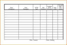 Sign In Out Sheet Template 5 Equipment Sign Out Sheet Academic Resume Template