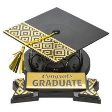 graduation cap cake topper silver congrats grad and cap cake topper graduation national