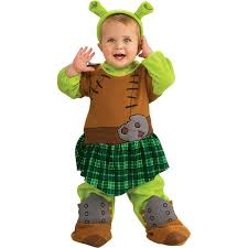 shrek fiona warrior infant toddler costume