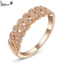 real crystal rings images Brand tracyswing rings for women genuine austrian crystal copper jpg
