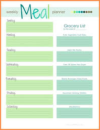 menu planners templates best menu planning template gallery resume sles writing