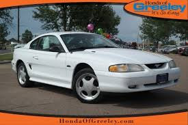 98 ford mustang gt pre owned 1998 ford mustang gt 2dr car in greeley a5078a