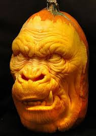 Smashing Pumpkins Halloween - smashing pumpkin carving from villafane studios awesome looking