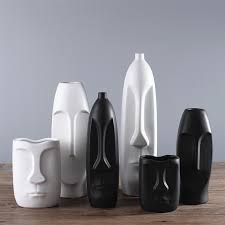 Vase Face Aliexpress Com Buy Nodic Design Black White Vase Quality Matt