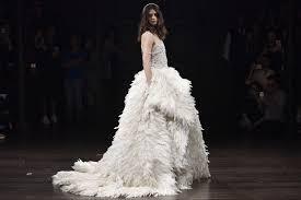 wedding fashion naeem khan bridal 2018 wwd