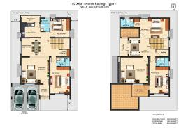 South Facing Duplex House Floor Plans by Floor Plan Shri Kubhera Parivar Kubhera Vistas At