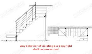 L Shaped Stairs Design Indoor Stairs Designs L Shaped Inox Handrail Wood Staircase View