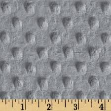 shannon minky cuddle dimple silver discount designer fabric