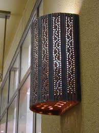 Tin Wall Sconce Alluring Tin Wall Sconce Lighting Ceramic Wall