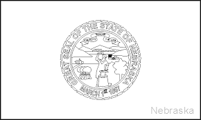 virginia state flag coloring page murderthestout