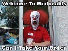 Clown Memes - scary clown pictures google search clown meme pinterest