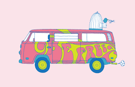 volkswagen bus drawing images of pin hippie van drawing sc