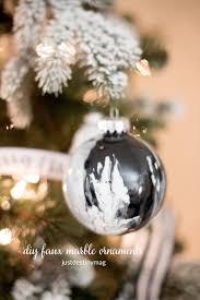 handmade faux marble christmas ornaments just destiny