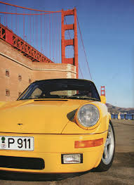 porsche ruf yellowbird mad 4 wheels 1987 ruf ctr yellowbird based on porsche 911 964
