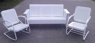 Metal Porch Gliders Vintage Glider Lawn Chair Naya Furnitures