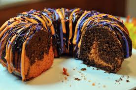 Halloween Castle Cakes by Halloween Bundt Cake Recipe