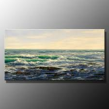 endless sea landscape sea oil painting landscape a63